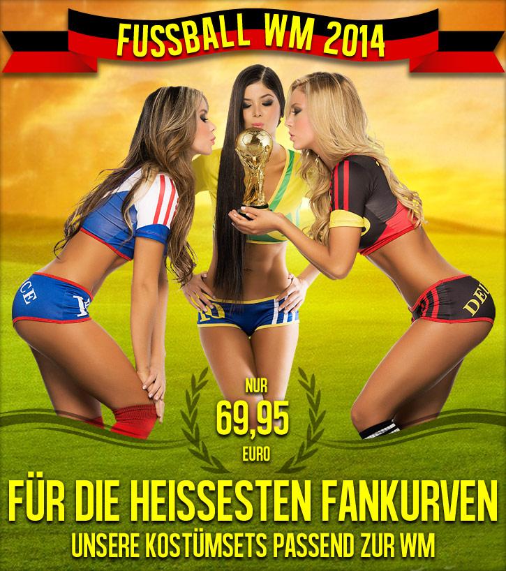 Sexy Fan-Trikots zur Fußball-WM