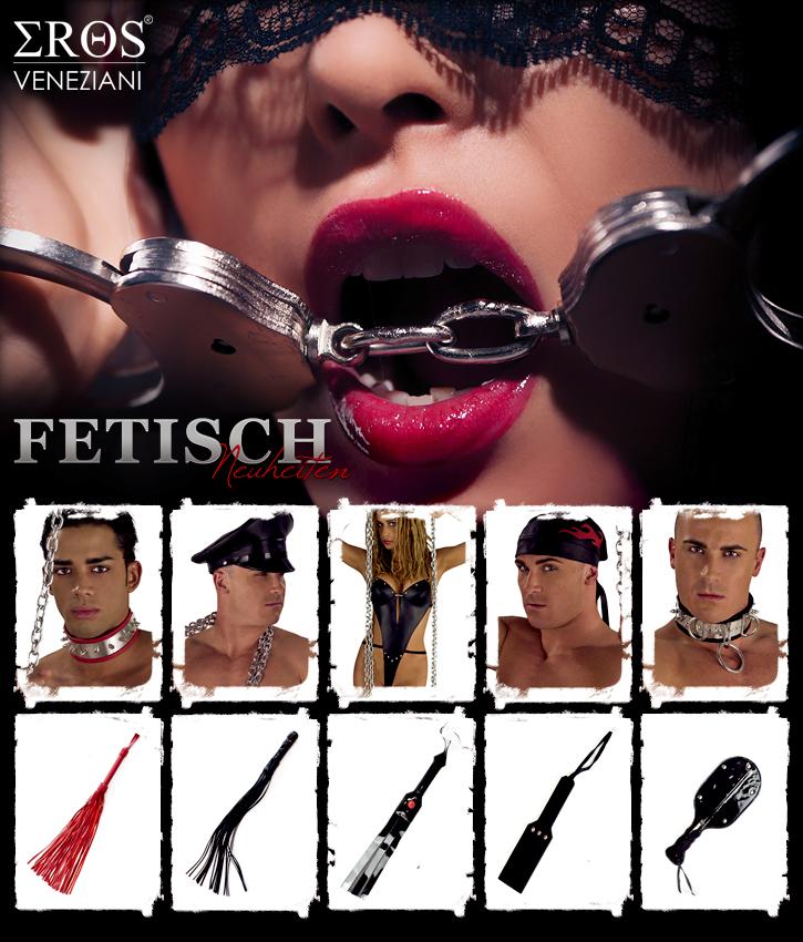 Fetisch-Kollektion von Eros Veneziani
