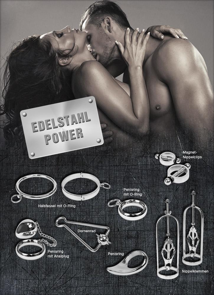 Edelstahl-Sextoys bei Sineros