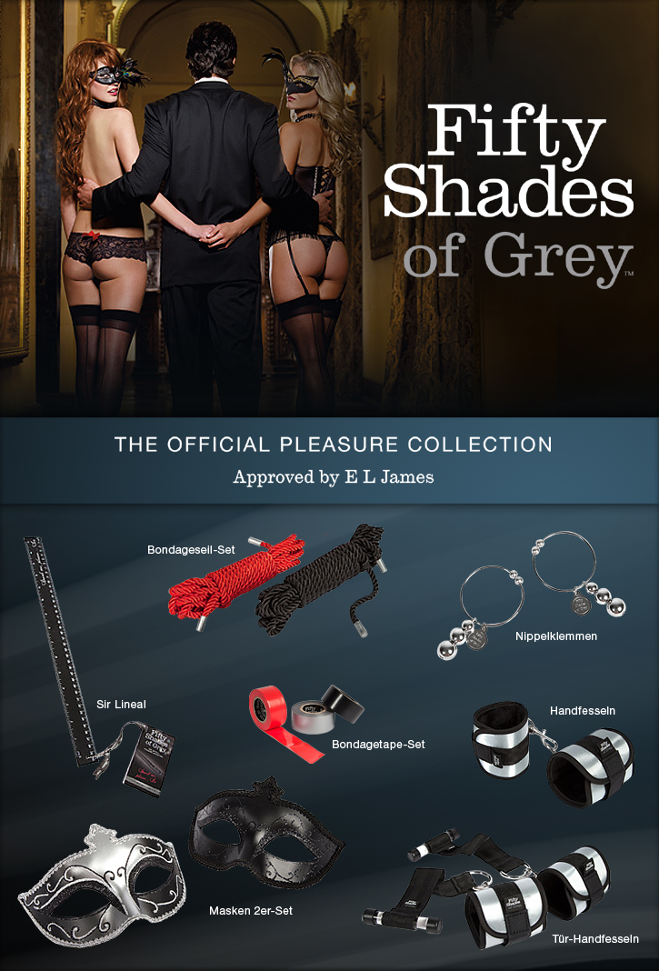 Die offizielle Fifty Shades of  Grey Toy Collection