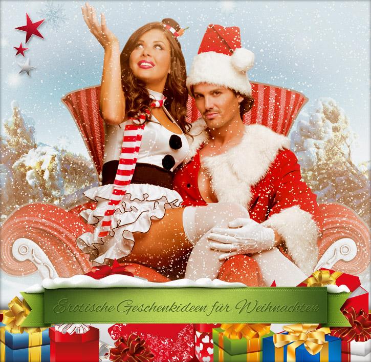 Sinnliche Weihnachten mit den Geschenkideen bei SinEros.de