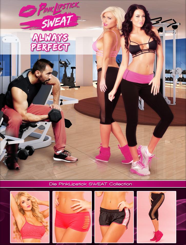 Die neue Sweat Kollektion von Pink Lipstick - jetzt auf SinEros.de!