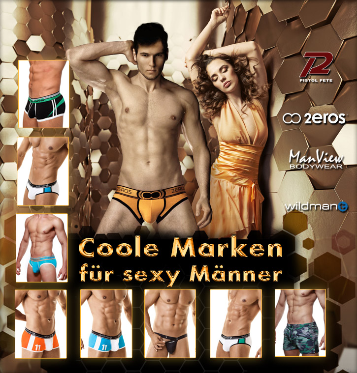 Coole Marken für coole Männer bei SinEros.de