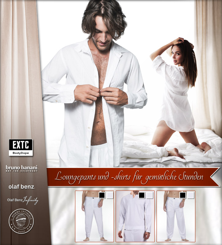 Sexy-lässige Loungewear für Männer