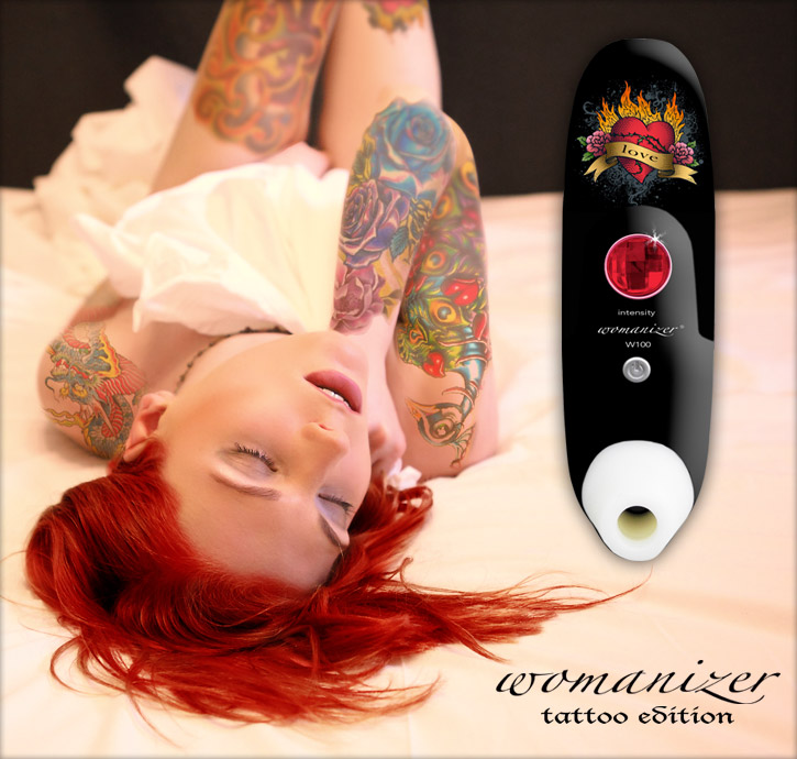 Der Womanizer W100 Tattoo bei SinEros.de
