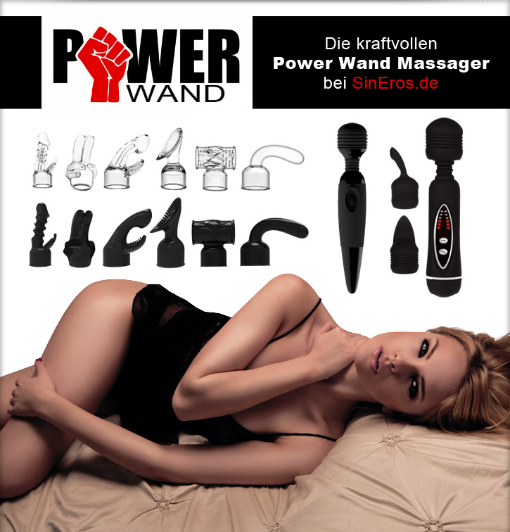 Wand Massager im SinEros-Shop