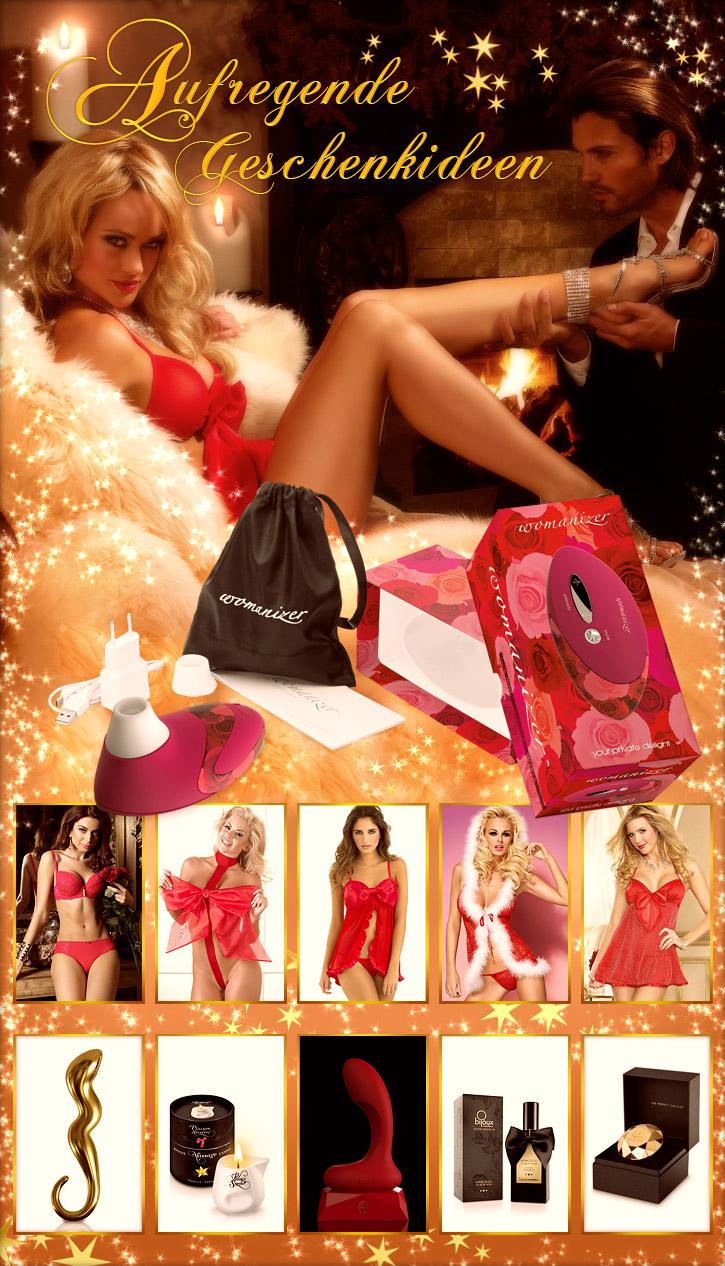 Erotische Weihnachten mit den Geschenk-Ideen von SinEros.de
