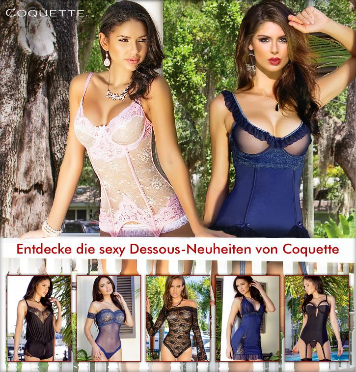 Dessous-Neuheiten von Coquette bei SinEros.de