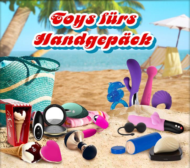 Reise-Sextoys für einen erotischen Urlaub - bei SinEros.de
