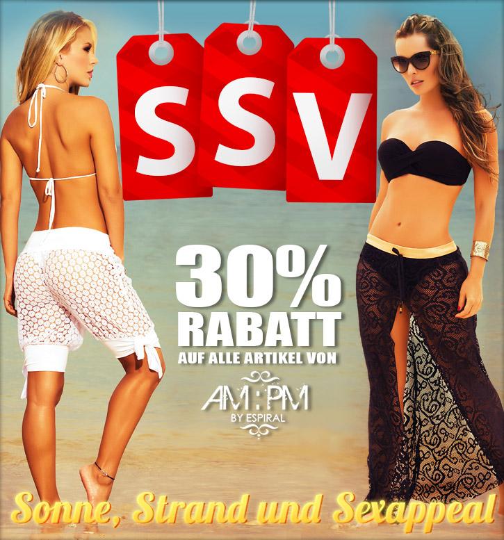 SummerSale bei SinEros.de: 30 Prozent auf AM:PM