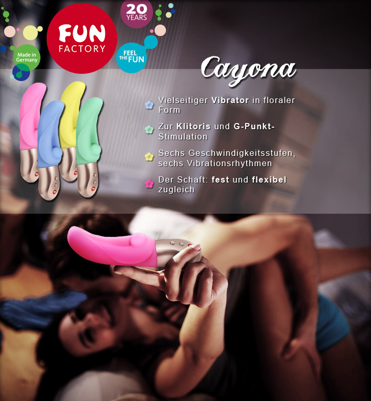 Fun Factory Cayona bei SinEros.de!