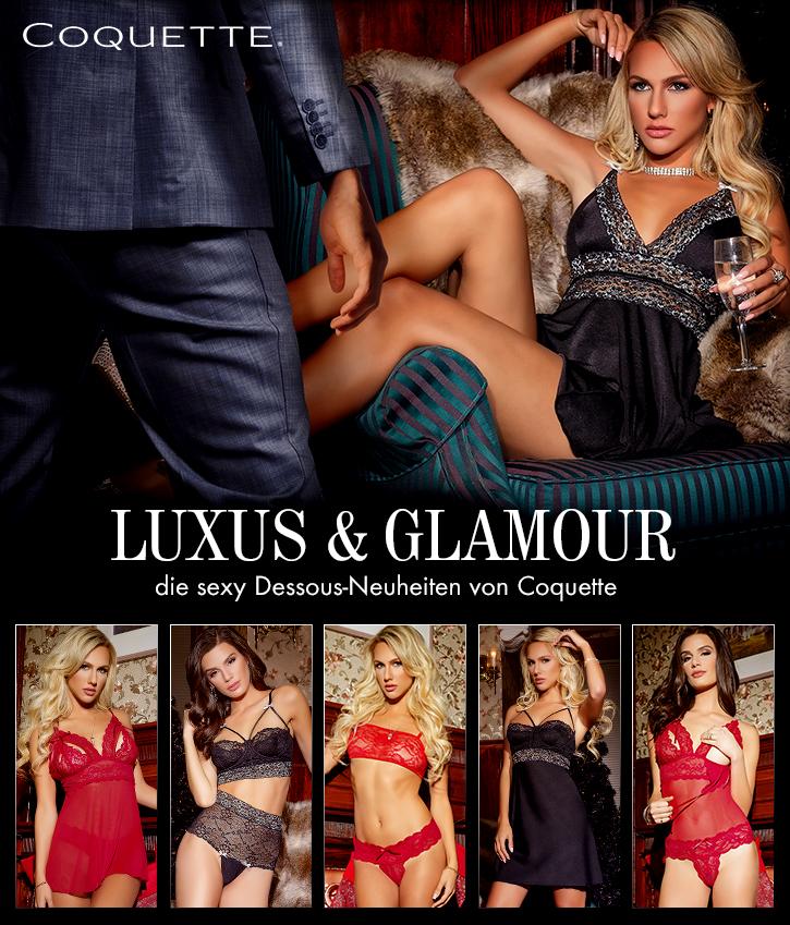 Luxuriöse Dessous von Coquette jetzt bei SinEros.de