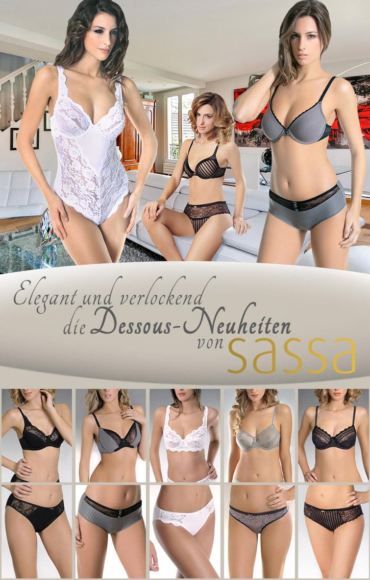 Die neue Kollektion von Sassa auf SinEros.de